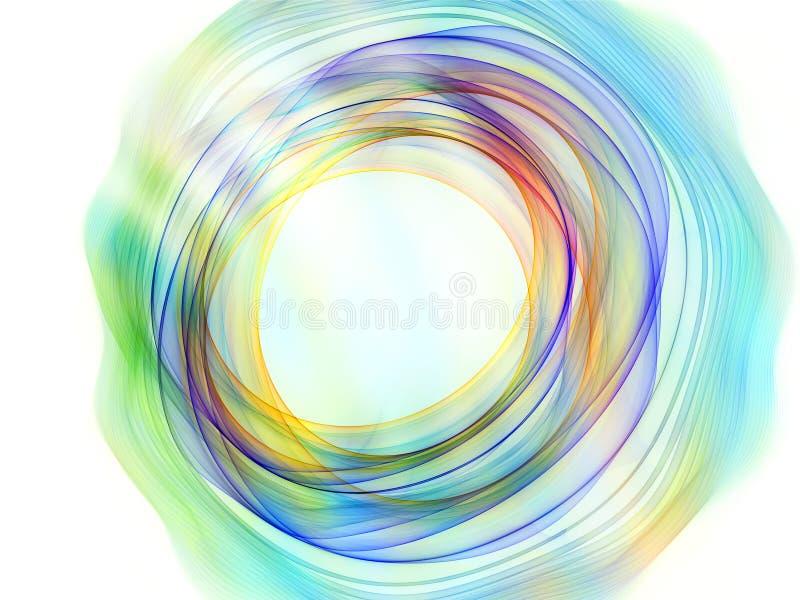 Kleurrijke CirkelVormen royalty-vrije illustratie