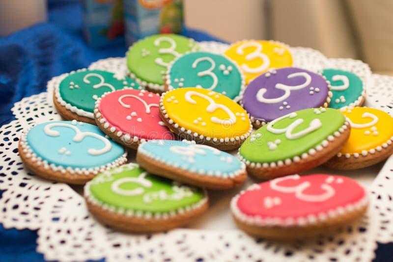 Kleurrijke cupcakes royalty-vrije stock afbeeldingen