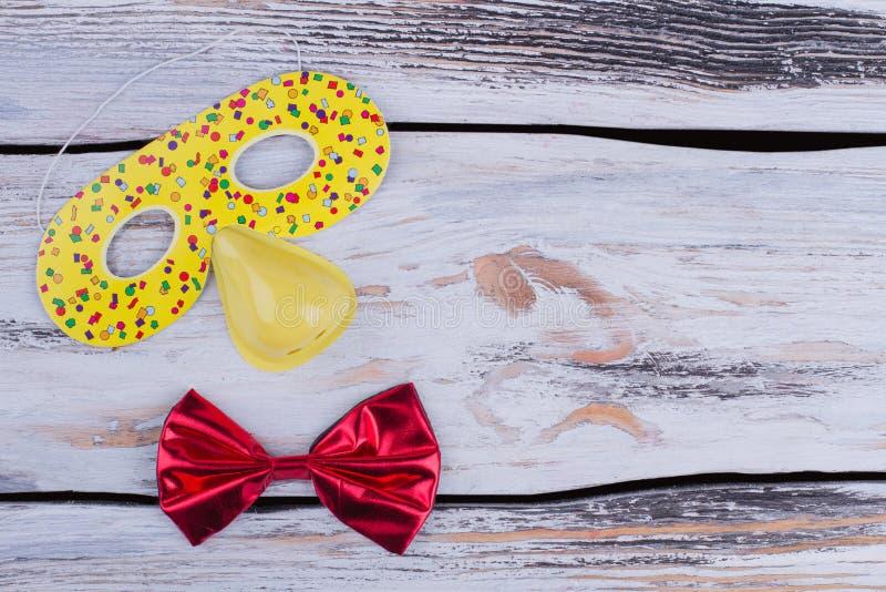 Kleurrijke de partijtoebehoren van Carnaval of van de Verjaardag royalty-vrije stock foto