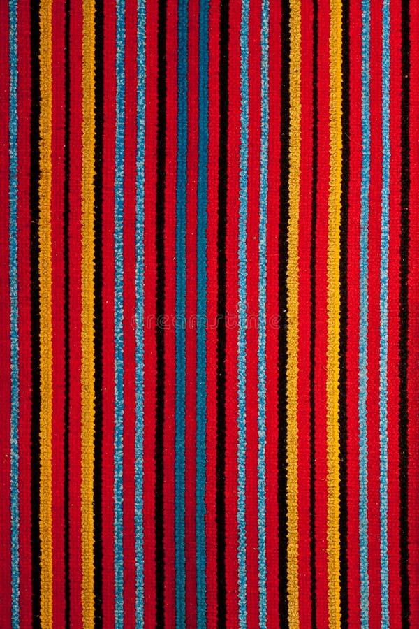 Kleurrijke deken royalty-vrije stock foto