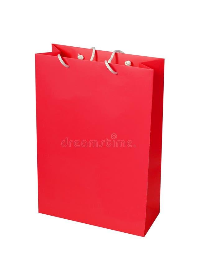 Kleurrijke die document het winkelen zakken op wit worden geïsoleerd royalty-vrije stock foto's