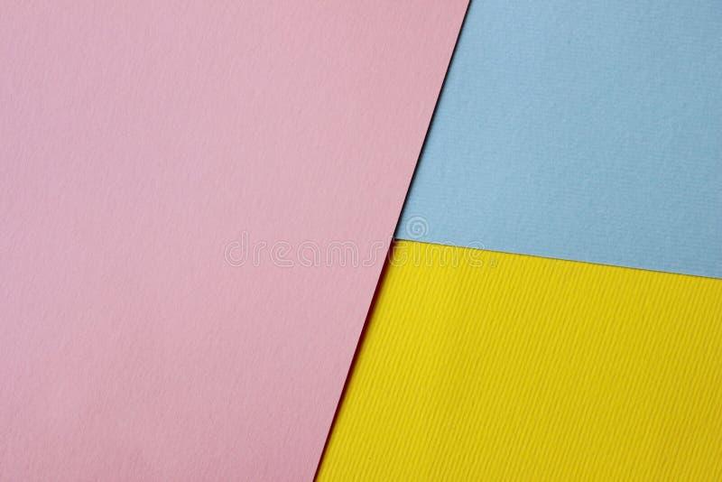 Kleurrijke Document Textuur met Heel wat Exemplaarruimte voor Tekst royalty-vrije stock foto