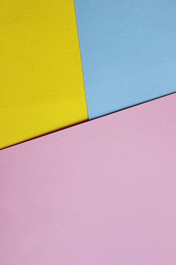 Kleurrijke Document Textuur met Heel wat Exemplaarruimte voor Tekst royalty-vrije stock afbeeldingen