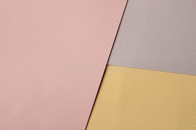 Kleurrijke Document Textuur met Heel wat Exemplaarruimte voor Tekst royalty-vrije stock afbeelding