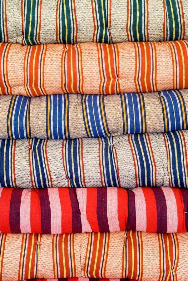 Kleurrijke doek stock afbeelding