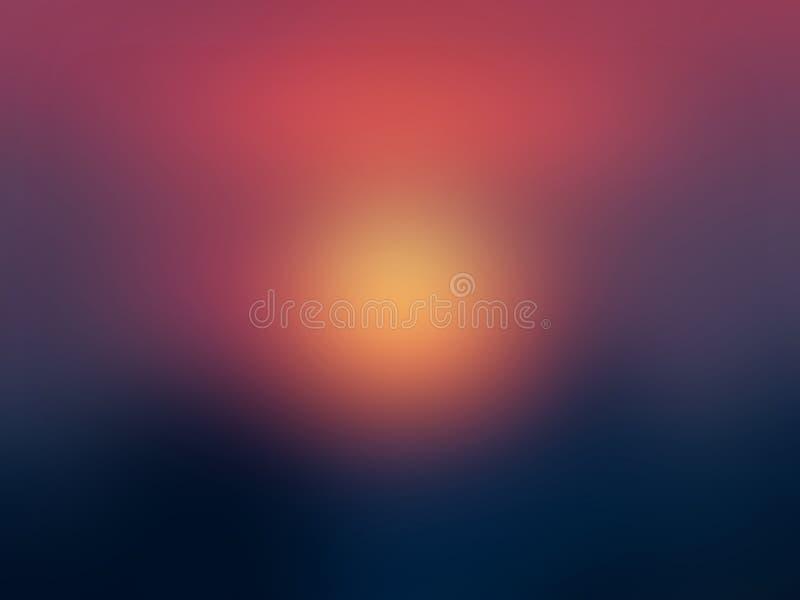 In kleurrijke donkerblauwe en rode abstracte achtergrond Illustratie stock afbeelding