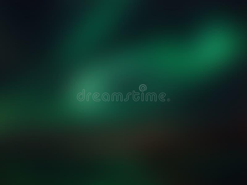 In kleurrijke donkergroene abstracte achtergrond Illustratie stock afbeeldingen