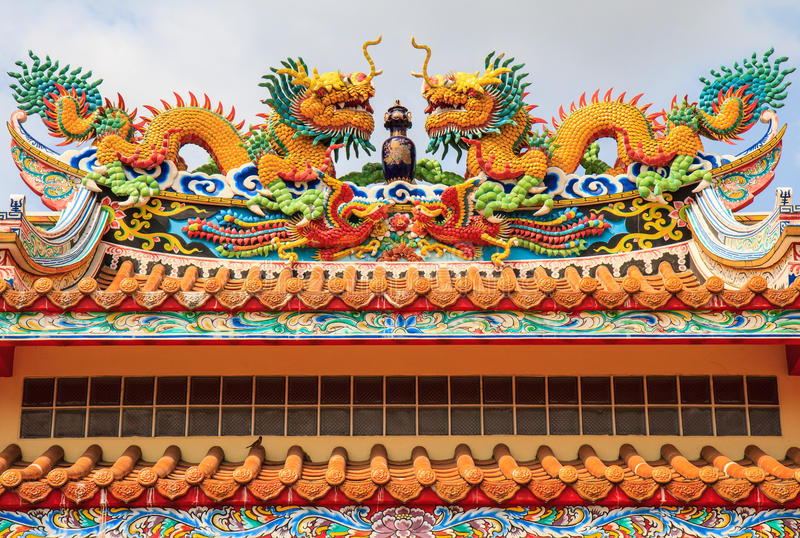 Kleurrijke draak royalty-vrije stock fotografie