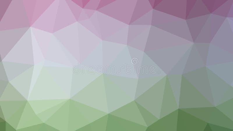 Kleurrijke, Driehoekige lage poly, achtergrond van het mozaïek de abstracte patroon, Vector veelhoekige illustratie grafische, Cr royalty-vrije illustratie
