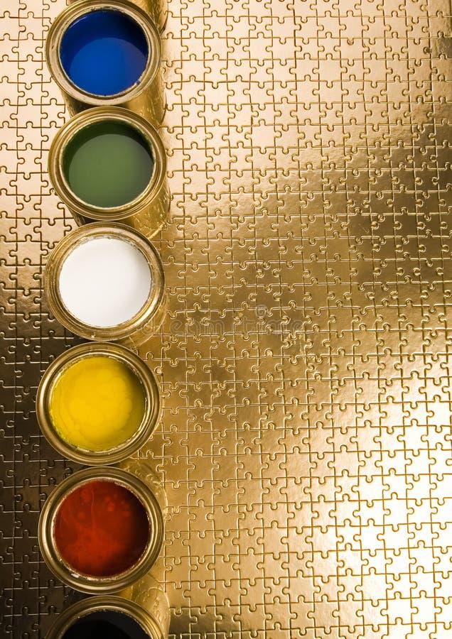 Kleurrijke figuurzagen stock afbeelding