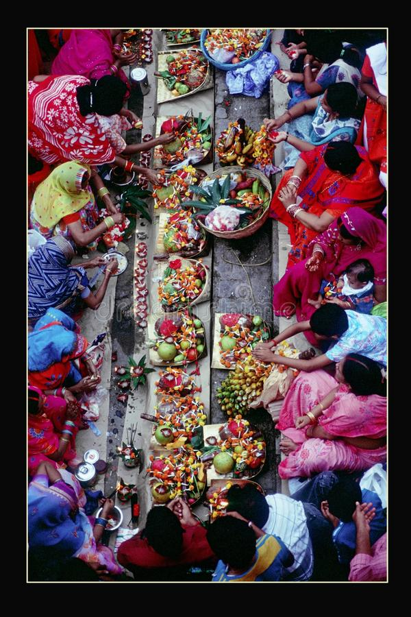 Kleurrijke, fruitige voorbereiding royalty-vrije stock fotografie