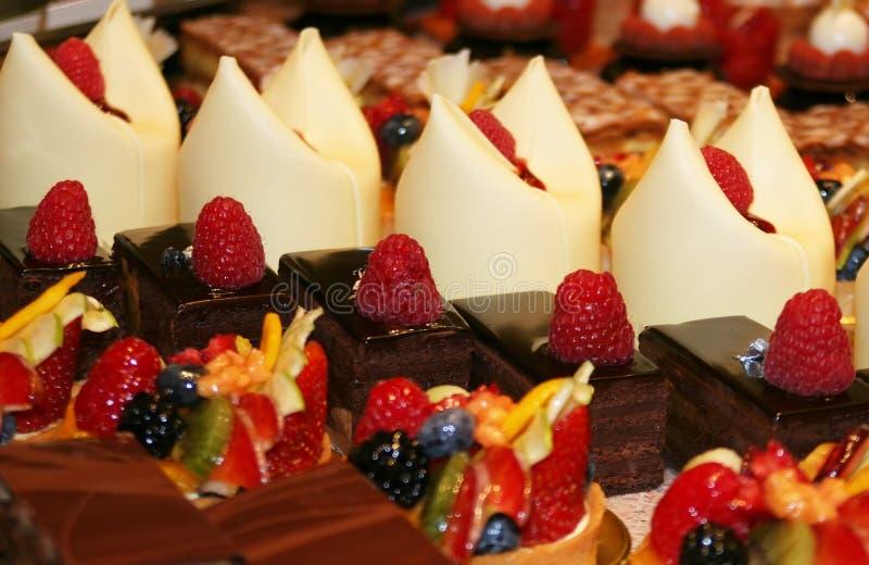 Kleurrijke gebakjes royalty-vrije stock fotografie