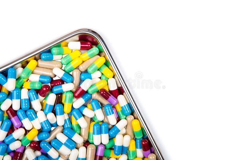 Kleurrijke geneesmiddelen royalty-vrije stock afbeelding
