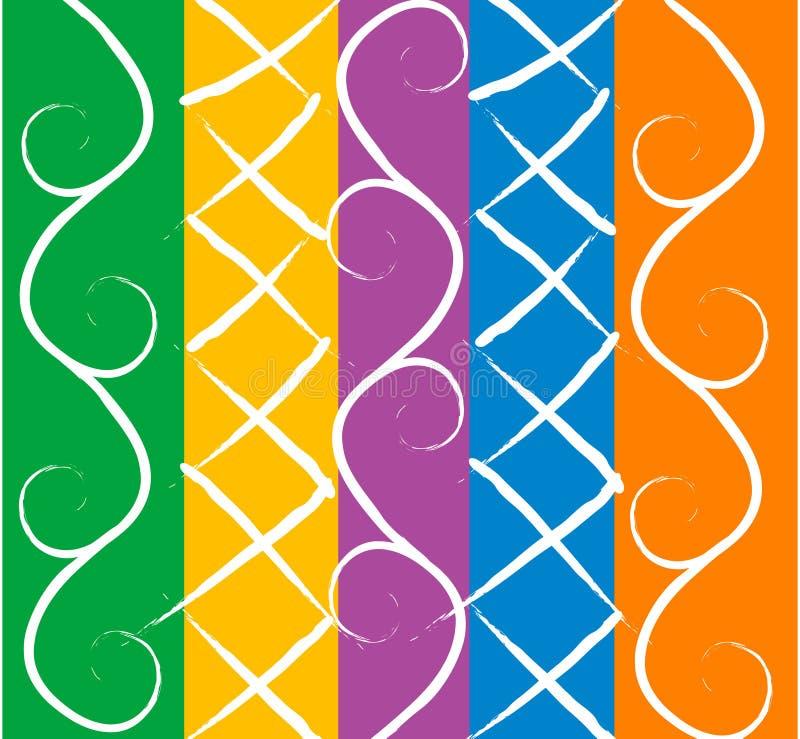 Kleurrijke geometrische samenvatting  royalty-vrije stock afbeelding