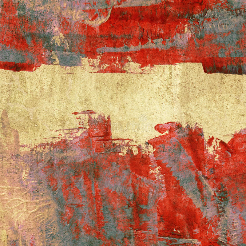 Kleurrijke geschilderde achtergrond stock afbeelding
