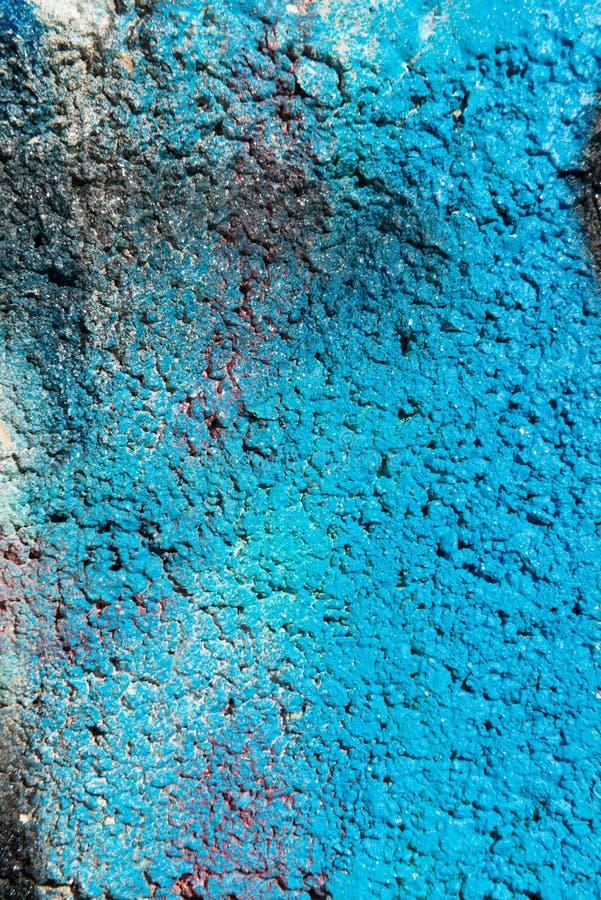 Kleurrijke geschilderde muur stock foto