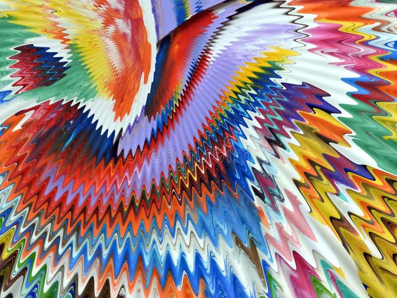 Kleurrijke geschilderde oppervlaktetextuur stock foto