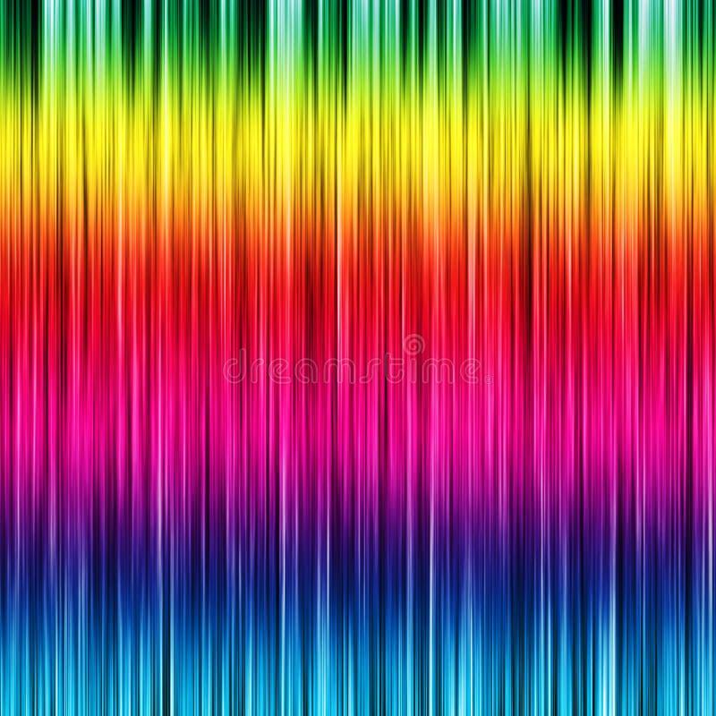 Kleurrijke gestreepte achtergrond stock illustratie