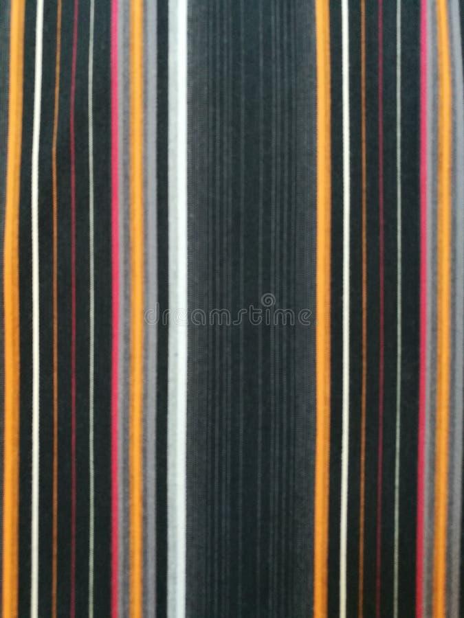 Kleurrijke gestreepte stoffenachtergrond royalty-vrije stock foto's
