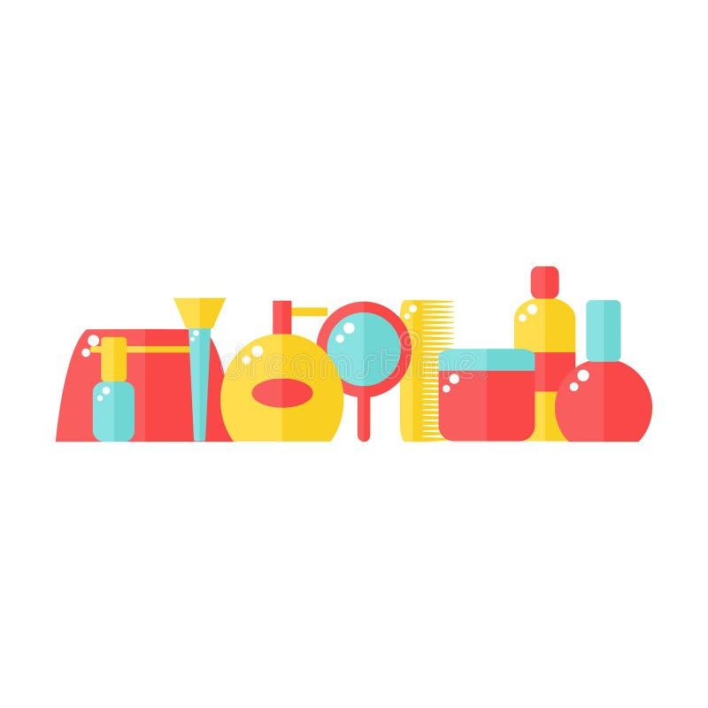 Kleurrijke giftdozen met bogen en linten vectorreeks vector illustratie