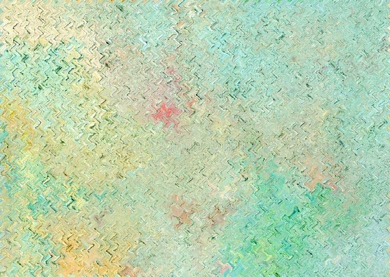 Kleurrijke glanzende schone en stevige abstracte achtergrond met golvend p stock illustratie