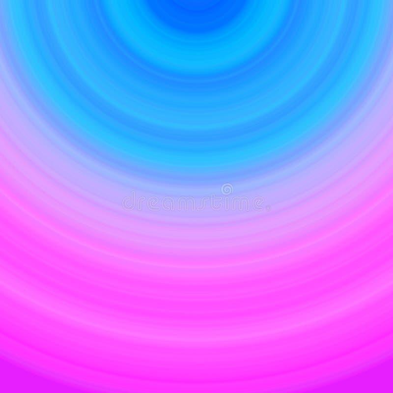 Kleurrijke Gradiënt van roze en Blue Circle-de Achtergrondombre vector illustratie