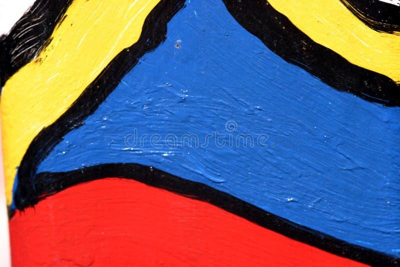 Kleurrijke graffiti stock afbeelding