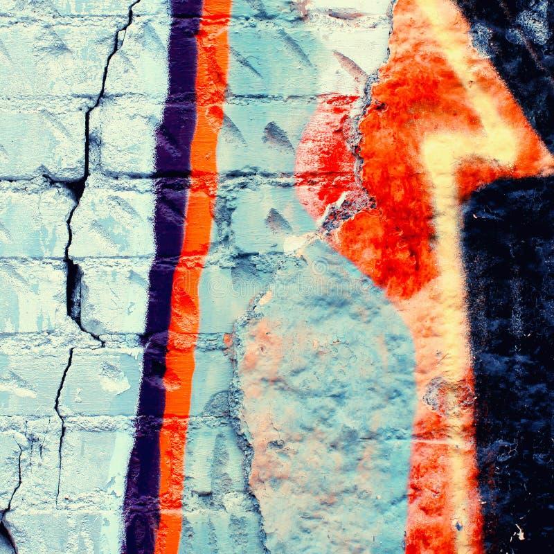 Kleurrijke graffiti royalty-vrije stock foto's