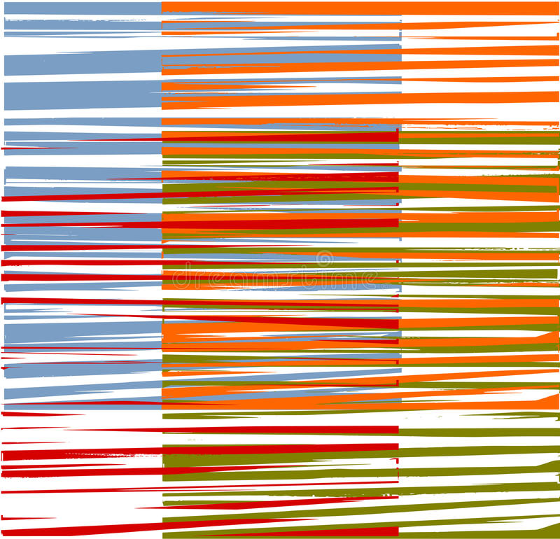 Kleurrijke grafische ontwerpstrepen vector illustratie