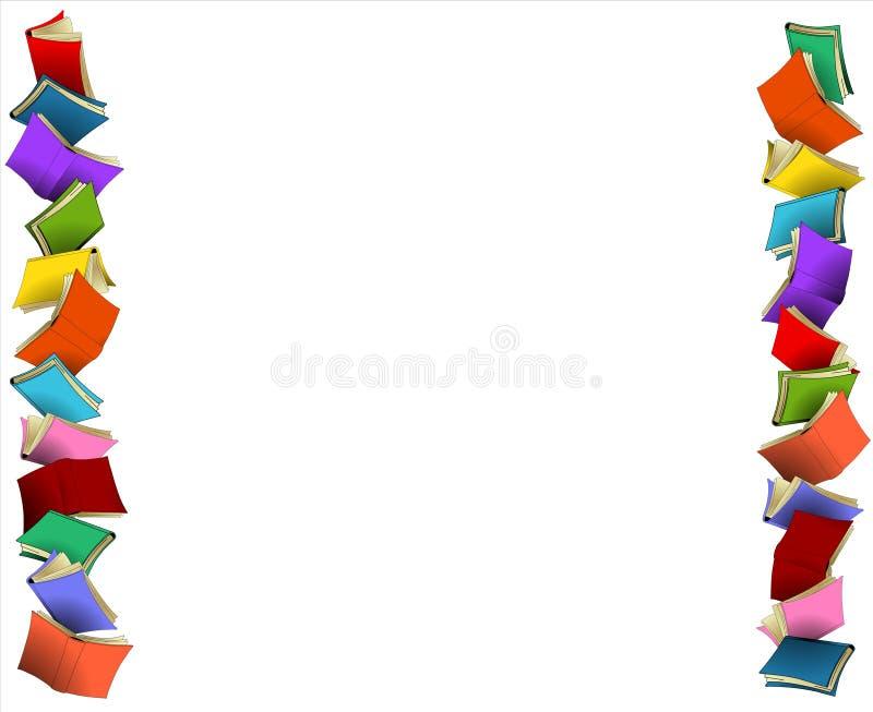 Kleurrijke grenzen stock illustratie
