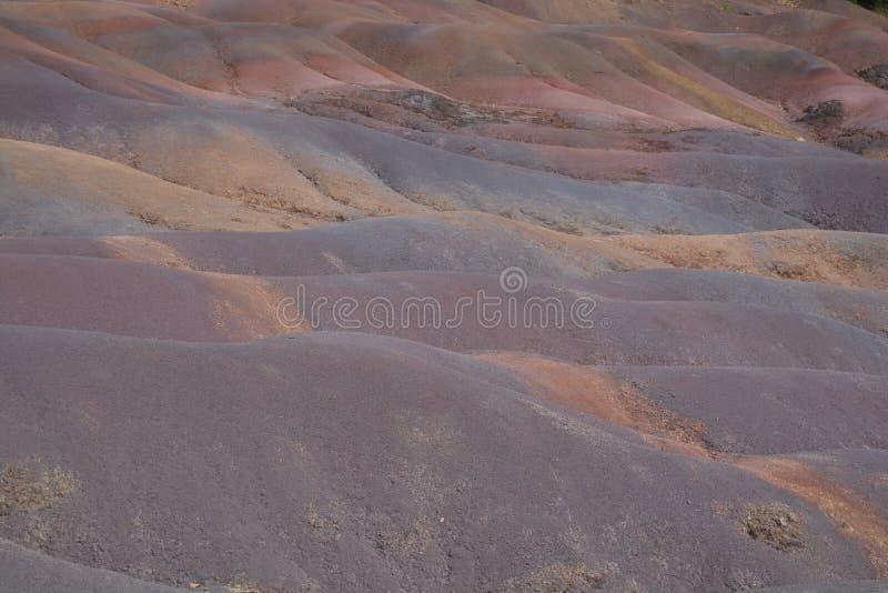 Kleurrijke Grond stock afbeelding