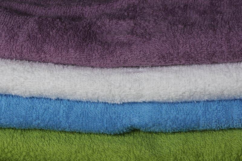 Kleurrijke handdoeken royalty-vrije stock fotografie
