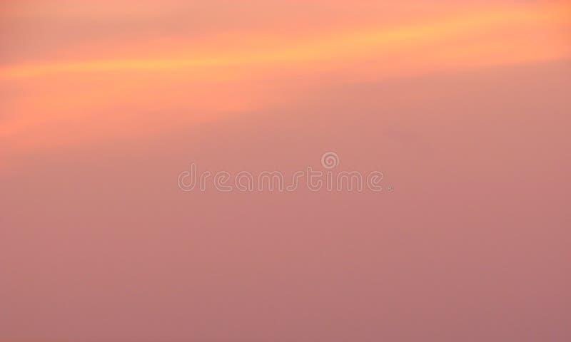 Kleurrijke hemel in Dawn - Abstracte Achtergrond royalty-vrije stock foto