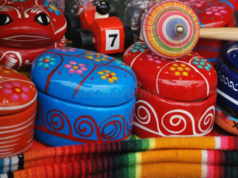 Kleurrijke herinneringen van Mexico royalty-vrije stock afbeelding