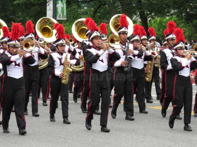 Kleurrijke het Marcheren Band stock foto
