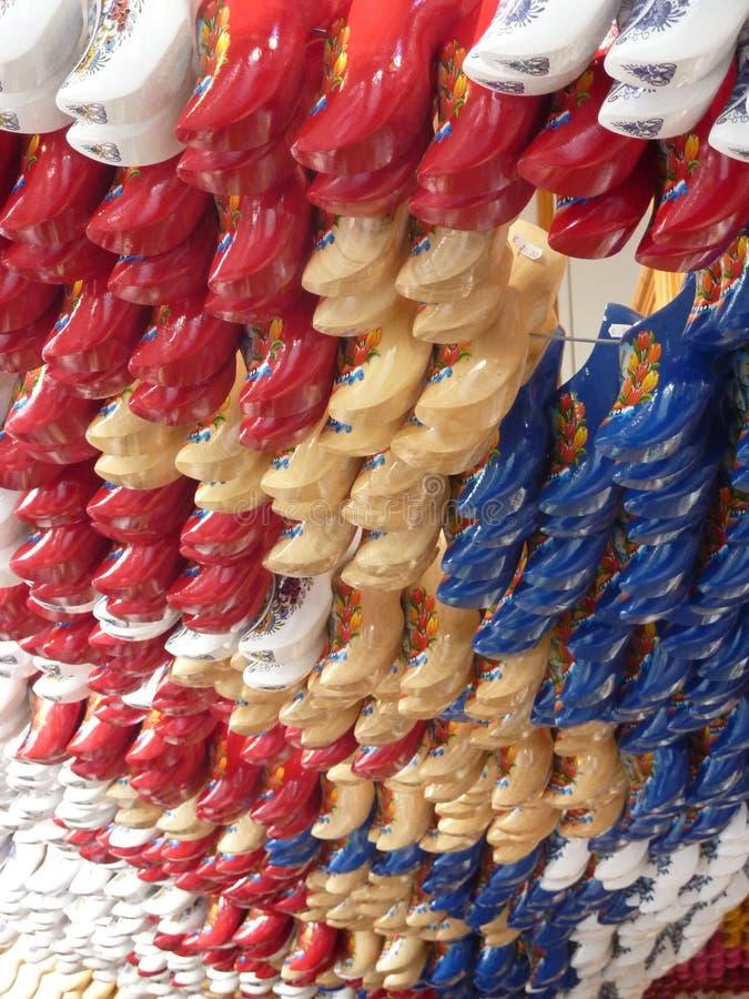 Kleurrijke hoofs van Amsterdam Holland 2 stock foto