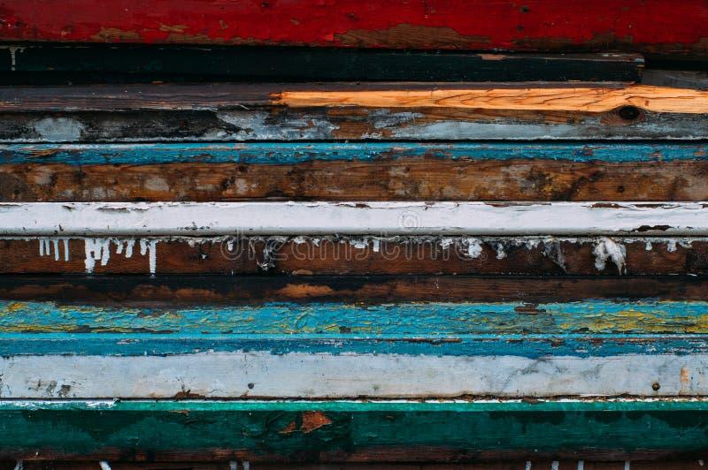 Kleurrijke horizontale lijnen royalty-vrije stock fotografie