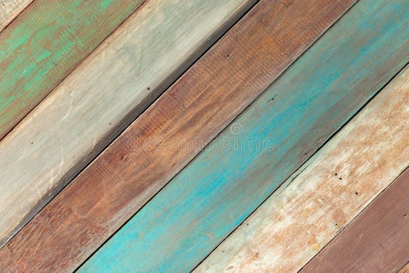 Kleurrijke houten achtergrond stock afbeeldingen