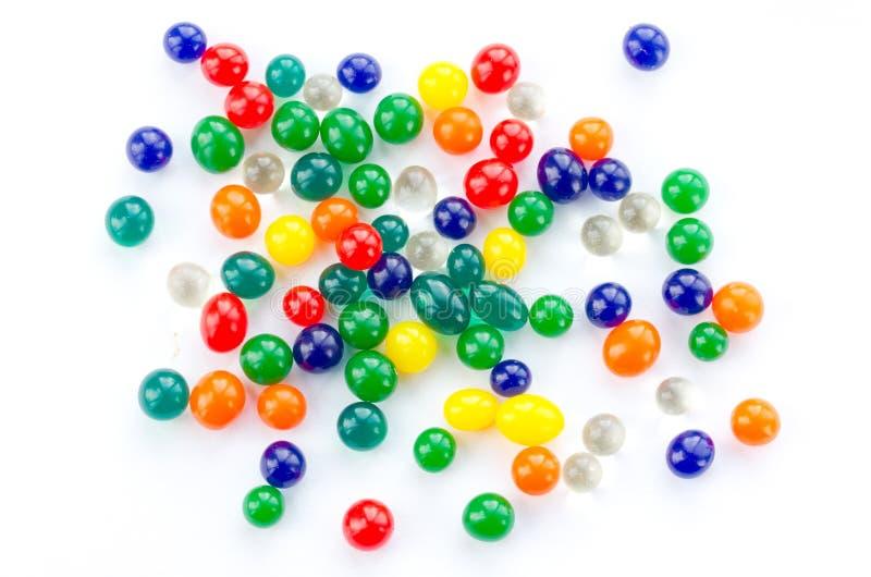 Kleurrijke hydrogelballen stock foto