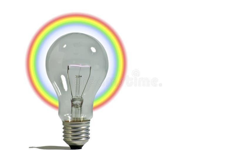 Kleurrijke ideeën stock afbeeldingen
