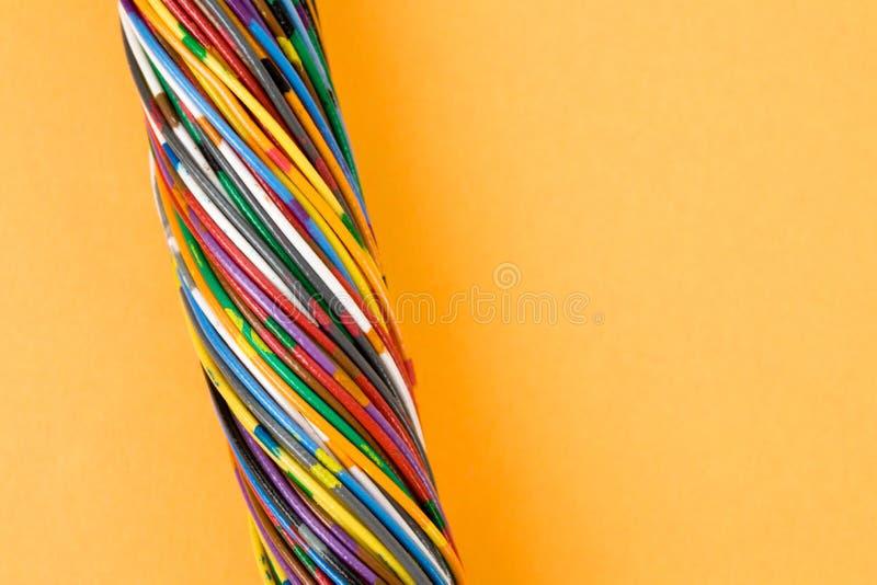 Kleurrijke Kabel stock foto