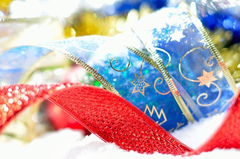 Kleurrijke Kerstmisdecoratie stock fotografie