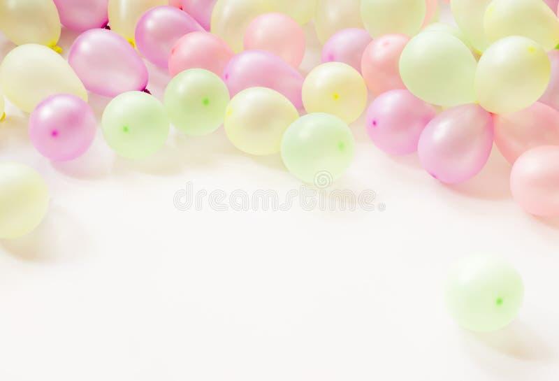 Kleurrijke kleine Baloons royalty-vrije stock afbeeldingen