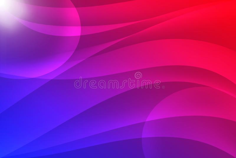 Kleurrijke kromme abstracte achtergrond royalty-vrije stock afbeelding