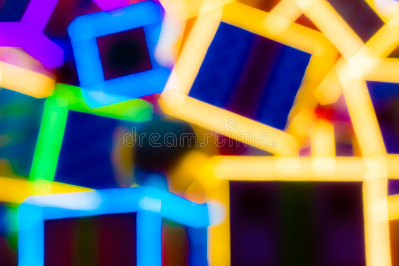 Kleurrijke LEIDEN Licht royalty-vrije stock foto's