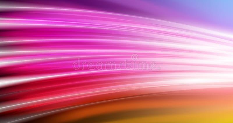 Kleurrijke levendige stroomachtergrond vector illustratie