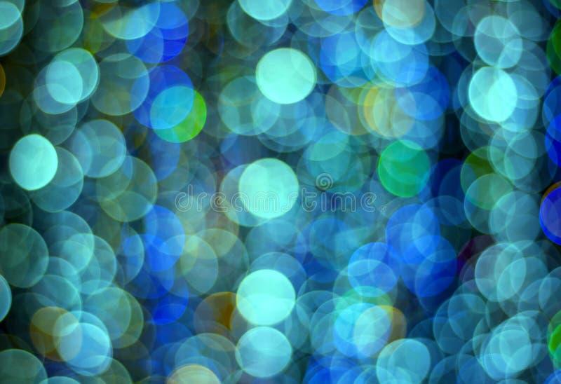 Kleurrijke lichte bokehachtergrond royalty-vrije stock foto