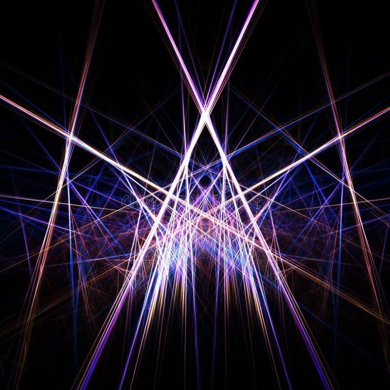 Kleurrijke lichten stock illustratie