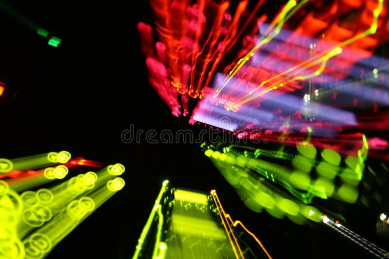 Kleurrijke lichten royalty-vrije stock afbeelding