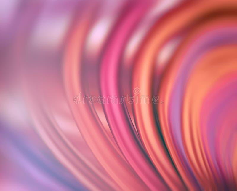 Kleurrijke lijnen abstracte achtergrond vector illustratie